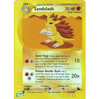Sandslash 93/144 E-Series Skyridge Reverse Holo Common Pokemon Card NEAR MINT TCG