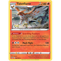Talonflame 32/189 SWSH Darkness Ablaze Rare Pokemon Card NEAR MINT TCG