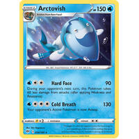 Arctovish 54/189 SWSH Darkness Ablaze Rare Pokemon Card NEAR MINT TCG