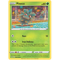 Pineco 8/185 Vivid Voltage Common Pokemon Card NEAR MINT TCG