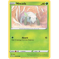 Nincada 13/185 Vivid Voltage Common Pokemon Card NEAR MINT TCG