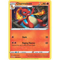 Charmeleon 24/185 Vivid Voltage Uncommon Pokemon Card NEAR MINT TCG