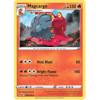 Magcargo 28/185 Vivid Voltage Uncommon Pokemon Card NEAR MINT TCG