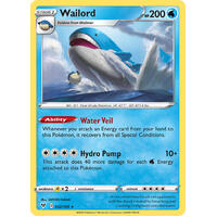 Wailord 32/185 Vivid Voltage Rare Holo Pokemon Card NEAR MINT TCG