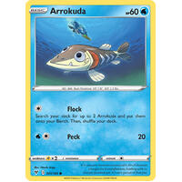 Arrokuda 41/185 Vivid Voltage Common Pokemon Card NEAR MINT TCG
