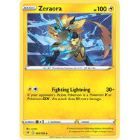 Zeraora 61/185 Vivid Voltage Holo Rare Pokemon Card NEAR MINT TCG