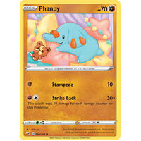 Phanphy 86/185 Vivid Voltage Common Pokemon Card NEAR MINT TCG