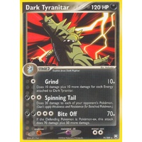 Dark Tyranitar 19/109 EX Team Rocket Returns Rare Pokemon Card NEAR MINT TCG