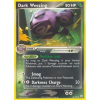 Dark Weezing 42/109 EX Team Rocket Returns Uncommon Pokemon Card NEAR MINT TCG