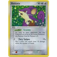 Rattata 71/109 EX Team Rocket Returns Reverse Holo Common Pokemon Card NEAR MINT TCG