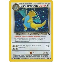 Dark Dragonite 5/82 Team Rocket Unlimited Holo Rare Pokemon Card NEAR MINT TCG
