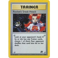Rocket's Sneak Attack 16/82 Team Rocket Unlimited Holo Rare Pokemon Card NEAR MINT TCG