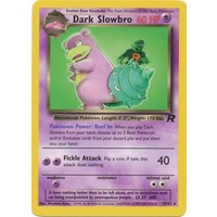 Dark Slowbro 29/82 Team Rocket Unlimited Rare Pokemon Card NEAR MINT TCG