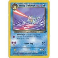 Dark Golduck 37/82 Team Rocket Unlimited Uncommon Pokemon Card NEAR MINT TCG