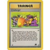 Challenge! 74/82 Team Rocket Unlimited Uncommon Trainer Pokemon Card NEAR MINT TCG