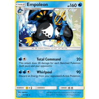 Empoleon 34/156 SM Ultra Prism Rare Pokemon Card NEAR MINT TCG
