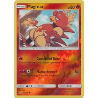 Magmar 18/156 SM Ultra Prism Reverse Holo Common Pokemon Card NEAR MINT TCG