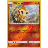 Chimchar 21/156 SM Ultra Prism Reverse Holo Common Pokemon Card NEAR MINT TCG