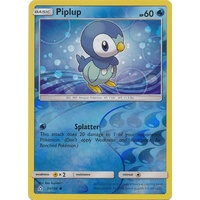 Piplup 31/156 SM Ultra Prism Reverse Holo Common Pokemon Card NEAR MINT TCG
