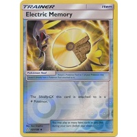Electric Memory 121/156 SM Ultra Prism Reverse Holo Uncommon Trainer Pokemon Card NEAR MINT TCG