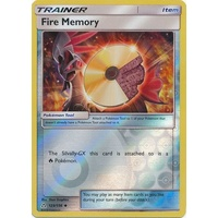 Fire Memory 123/156 SM Ultra Prism Reverse Holo Uncommon Trainer Pokemon Card NEAR MINT TCG