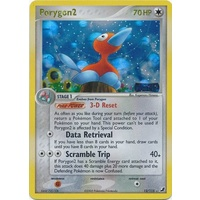 Porygon2 12/115 EX Unseen Forces Reverse Holo Rare Pokemon Card NEAR MINT TCG