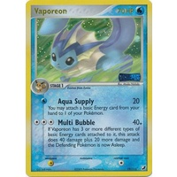 Vaporeon 19/115 EX Unseen Forces Reverse Holo Rare Pokemon Card NEAR MINT TCG