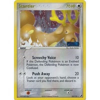 Stantler 32/115 EX Unseen Forces Reverse Holo Rare Pokemon Card NEAR MINT TCG