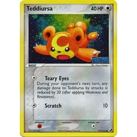 Teddiursa 77/115 EX Unseen Forces Reverse Holo Common Pokemon Card NEAR MINT TCG