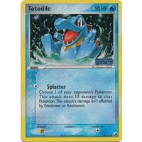 Totodile 78/115 EX Unseen Forces Reverse Holo Common Pokemon Card NEAR MINT TCG
