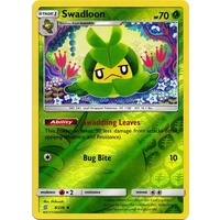 Swadloon 8/236 SM Unified Minds Reverse Holo Uncommon Pokemon Card NEAR MINT TCG