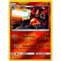 Magmortar 22/236 SM Unified Minds Reverse Holo Rare Pokemon Card NEAR MINT TCG
