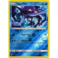 Tapu Fini 53/236 SM Unified Minds Reverse Holo Rare Pokemon Card NEAR MINT TCG