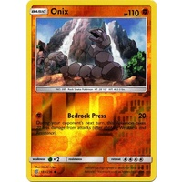 Onix 103/236 SM Unified Minds Reverse Holo Common Pokemon Card NEAR MINT TCG