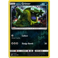 Alolan Grimer 127/236 SM Unified Minds Reverse Holo Common Pokemon Card NEAR MINT TCG
