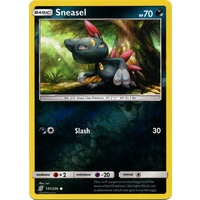 Sneasel 131/236 SM Unified Minds Reverse Holo Common Pokemon Card NEAR MINT TCG