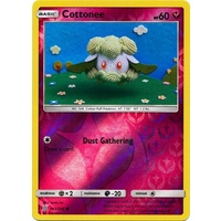 Cottonee 143/236 SM Unified Minds Reverse Holo Common Pokemon Card NEAR MINT TCG