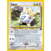 Togepi #30 WOTC Black Star Promo Pokemon Card NEAR MINT TCG