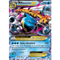 Mega Blastoise EX 30/146 XY Base Set Holo Ultra Rare Pokemon Card NEAR MINT TCG