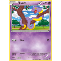 Ekans 47/146 XY Base Set Common Pokemon Card NEAR MINT TCG