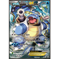 Blastoise EX XY122 XY Black Star Promo Pokemon Card NEAR MINT TCG