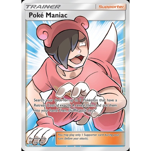 Pokemon Card  TRAINER  CHANNELER   Ultra Rare  232//236  UNIFIED MINDS **MINT**